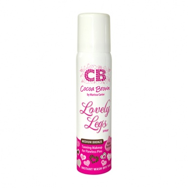 Cocoa Brown Lovely Legs Spray Tanning Make Up 75ml