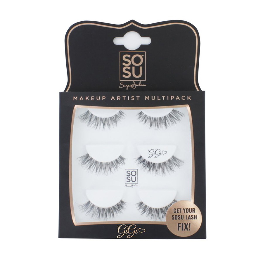 SOSU Makeup Artist Multipack Eyelashes