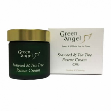 Green Angel Seaweed & Tea Tree Rescue Cream 50ml