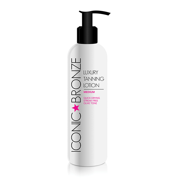Iconic Bronze Tanning Lotion Medium 200ml