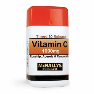 McNallys Vitamin C Time Release 1000mg 30 Tablets