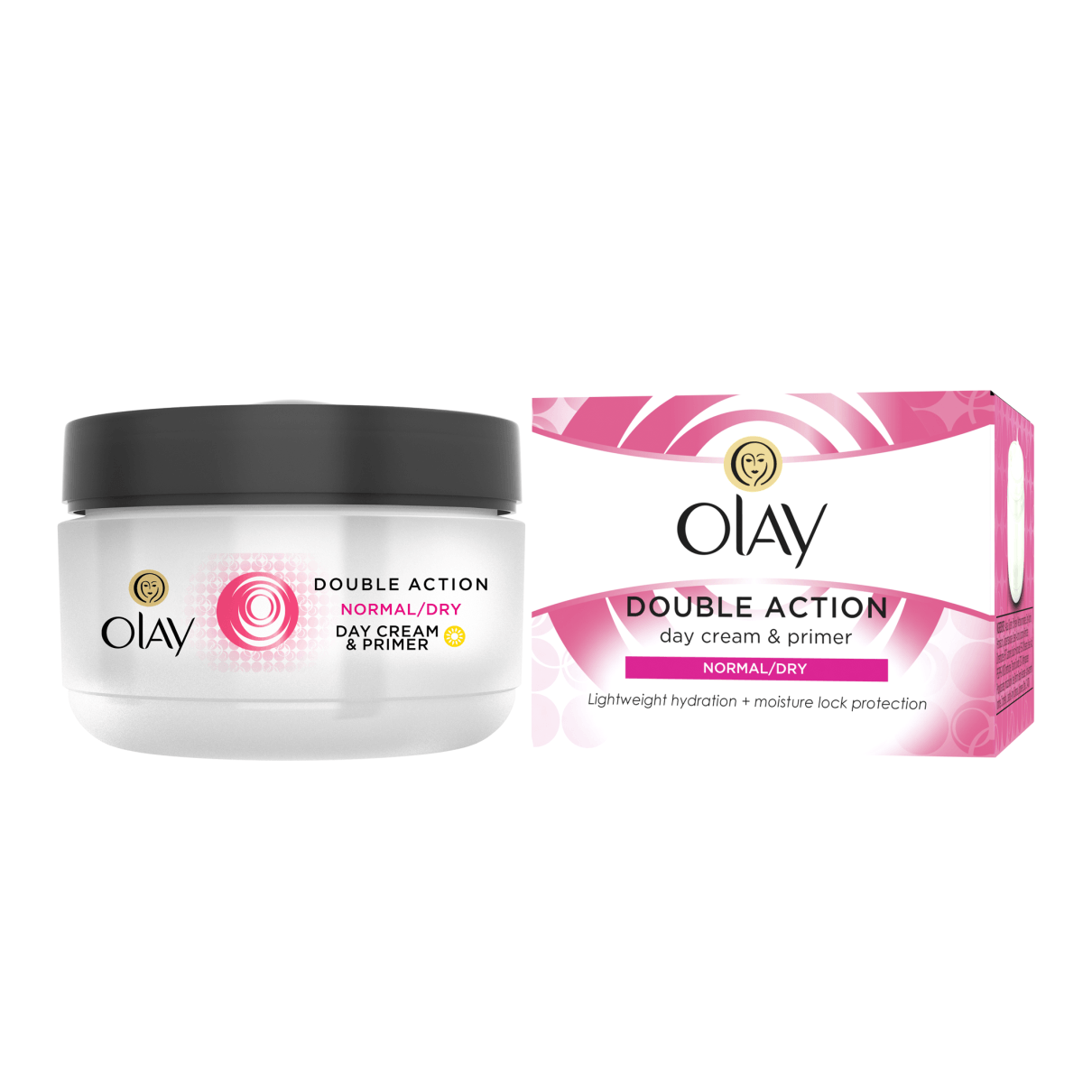 Olay Essentials Double Action Day Cream 50ml Norm/Dry