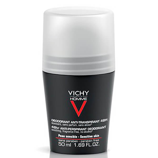 Vichy Homme Extreme Control Roll-On Deodorant 50ml