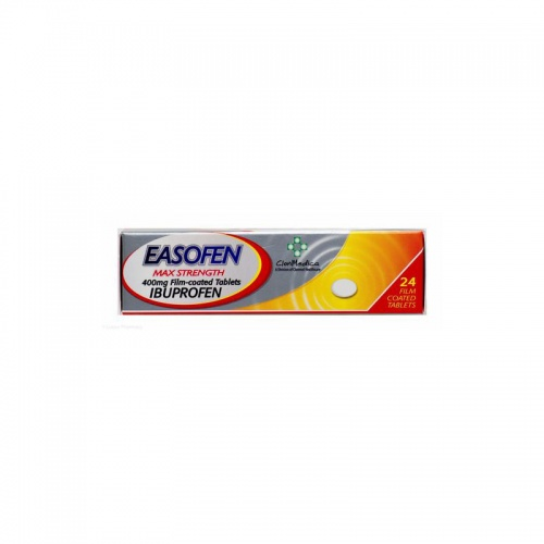 Easofen Max 400mg 24 Tablets