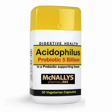 McNallys Acidophilus Probiotic 5 Billion Capsules (60s)