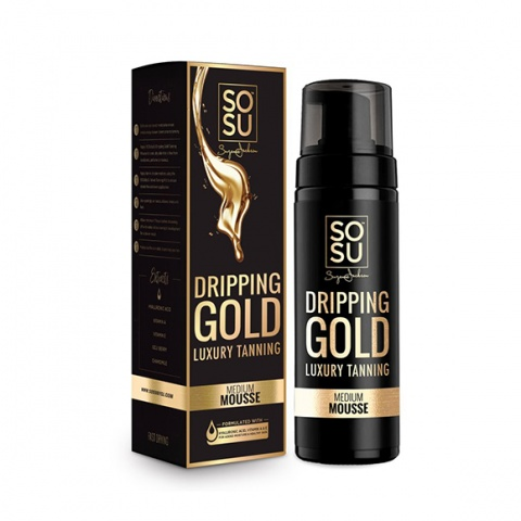 SOSU Dripping Gold Luxury Tan Mousse 150ml