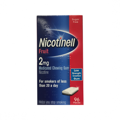 Nicotinell Fruit 2mg Medicated Chewing Gum