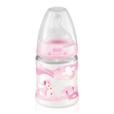 NUK First Choice PP Bottle Baby Rose 150ml
