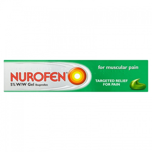 Nurofen 5% W/W Muscle Pain Relief Gel
