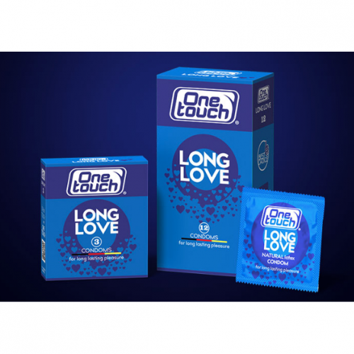 One Touch Condoms Long Love 3 Pack
