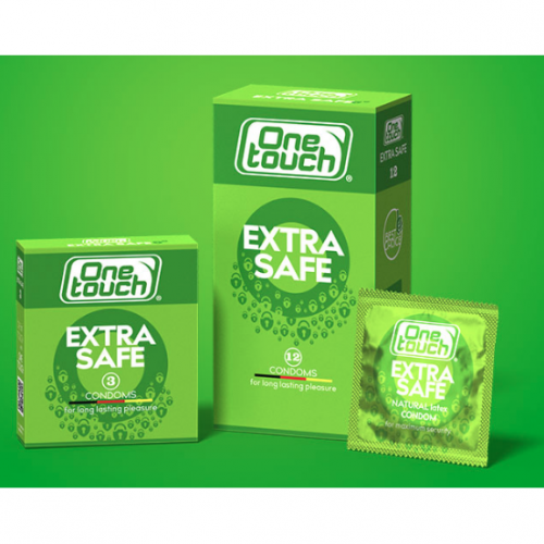 One Touch Condoms Extra Safe