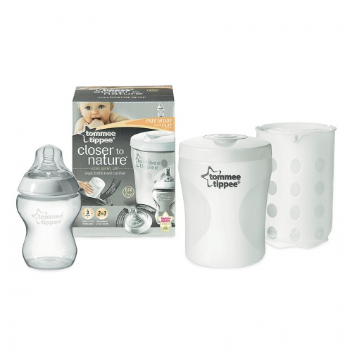 Tommee Tippee Closer To Nature Single Bottle Sterlizer
