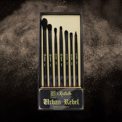SOSU x Keilidh Urban Rebel 7 Piece Brush Collection