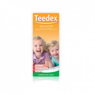Teedex Oral Solution 120mg/5ml 100ml