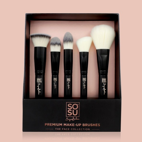 SOSU Premium Make-Up Brushes: The Face Collection
