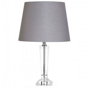 Tipperary Crystal Isabella 13'' Lamp and Shade