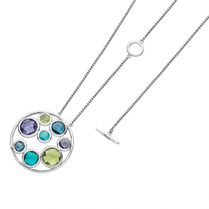 Tipperary Crystal Fresh Energy Circle Necklace