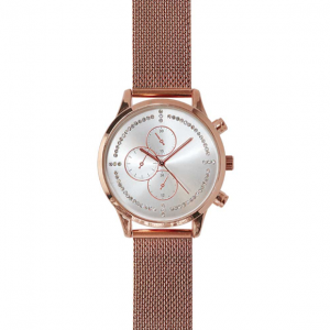 Tipperary Crystal California Dreams Rose Gold Watch
