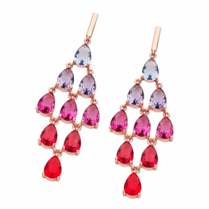 Tipperary Crystal Morocco Chandelier Earrings