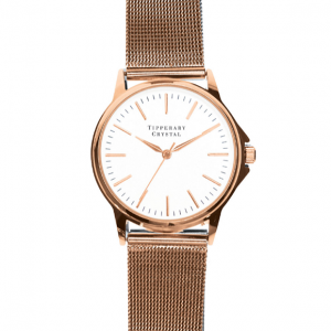 Tipperary Crystal Stage Rose Gold Watch