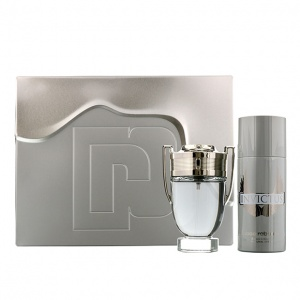Paco Rabanne Invictus Fragrance Gift Set For Him