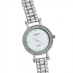 Tipperary Crystal Apollo Silver Watch