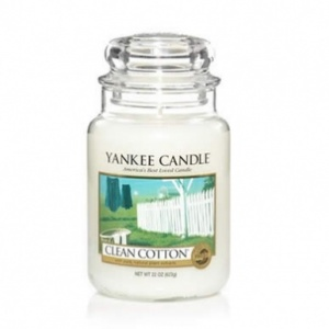 Clean Cotton Large Jar