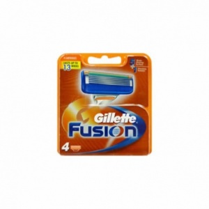 Gillette Fusion Cartridges (4 pack)
