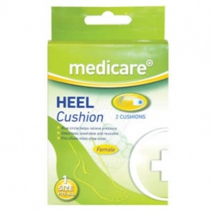 Medicare Female Heel Cushion (2 Pack)