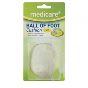 Medicare Gel Ball of Foot Cushion (2 Pack)