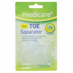 Medicare Gel Toe Separators (2 Pack)