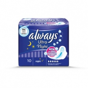 Always Ultra Night 10 Pack