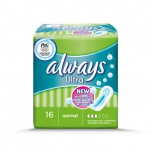 Always Ultra Normal Sanitary Towels 14 Pack