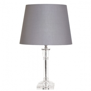 Tipperary Crystal Arcadia 13 Inch Lamp and Shade