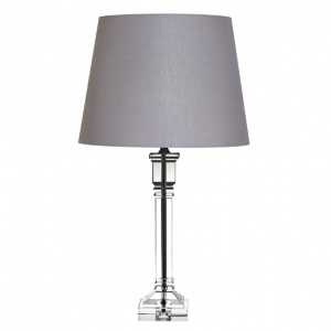 Tipperary Crystal Arcadia 19 Inch Lamp and Shade