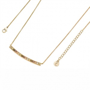 Tipperary Crystal Autumn Bar Necklace