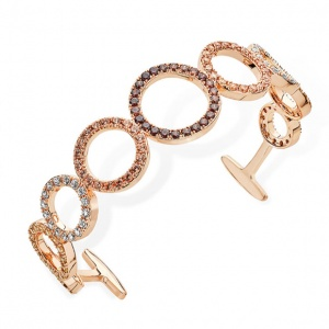 Tipperary Crystal Autumn Circles Bangle