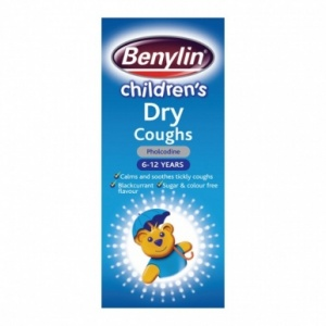 Benylin Children's Dry Coughs Syrup 125ml
