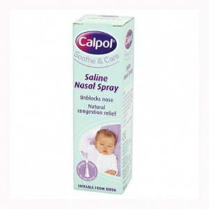 Calpol Soothe & Care Saline Nasal Spray 15ml