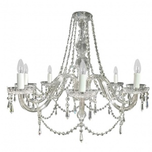 Tipperary Crystal Clarissa 8 Arm Chandelier