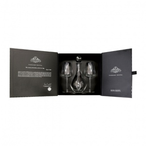 Tipperary Crystal Connoisseur Decanter & Two Red Wine Gift Box Set