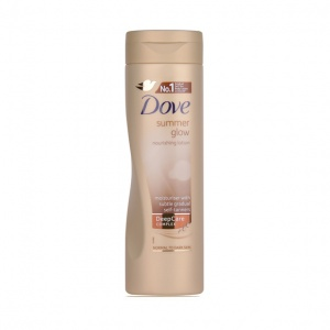 Dove Visible Glow Gradual Self Tan Body Lotion Medium to Dark 250ml