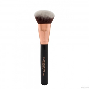 Blank Canvas F06 Bevelled Foundation/Contour Brush Rose Gold Black