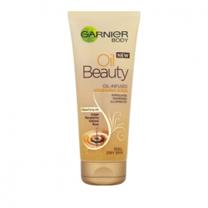 Garnier Body Oil Beauty Nourishing Scrub 200ml