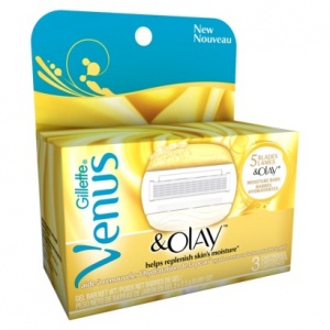 Gillette Venus & Olay Cartridges (3 Pack)