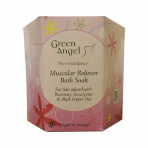 Green Angel Muscular Reliever Bath Soak 495ml