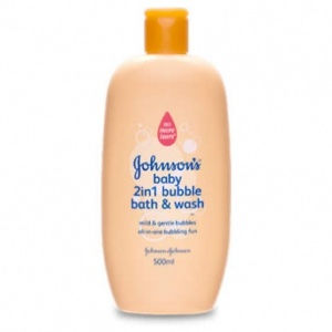 Johnson's Baby 2in1 Bubble Bath & Wash 500ml