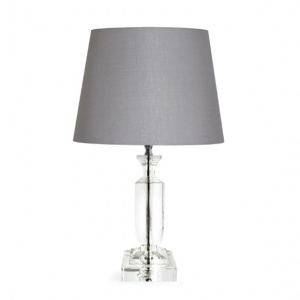 Tipperary Crystal Jupitor 14'' Lamp and Shade