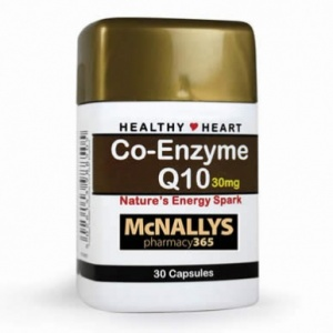 McNallys Co-Enzyme Q10 30mg (30s)