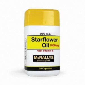 McNallys Starflower (Borage) Oil 1000mg (30s)